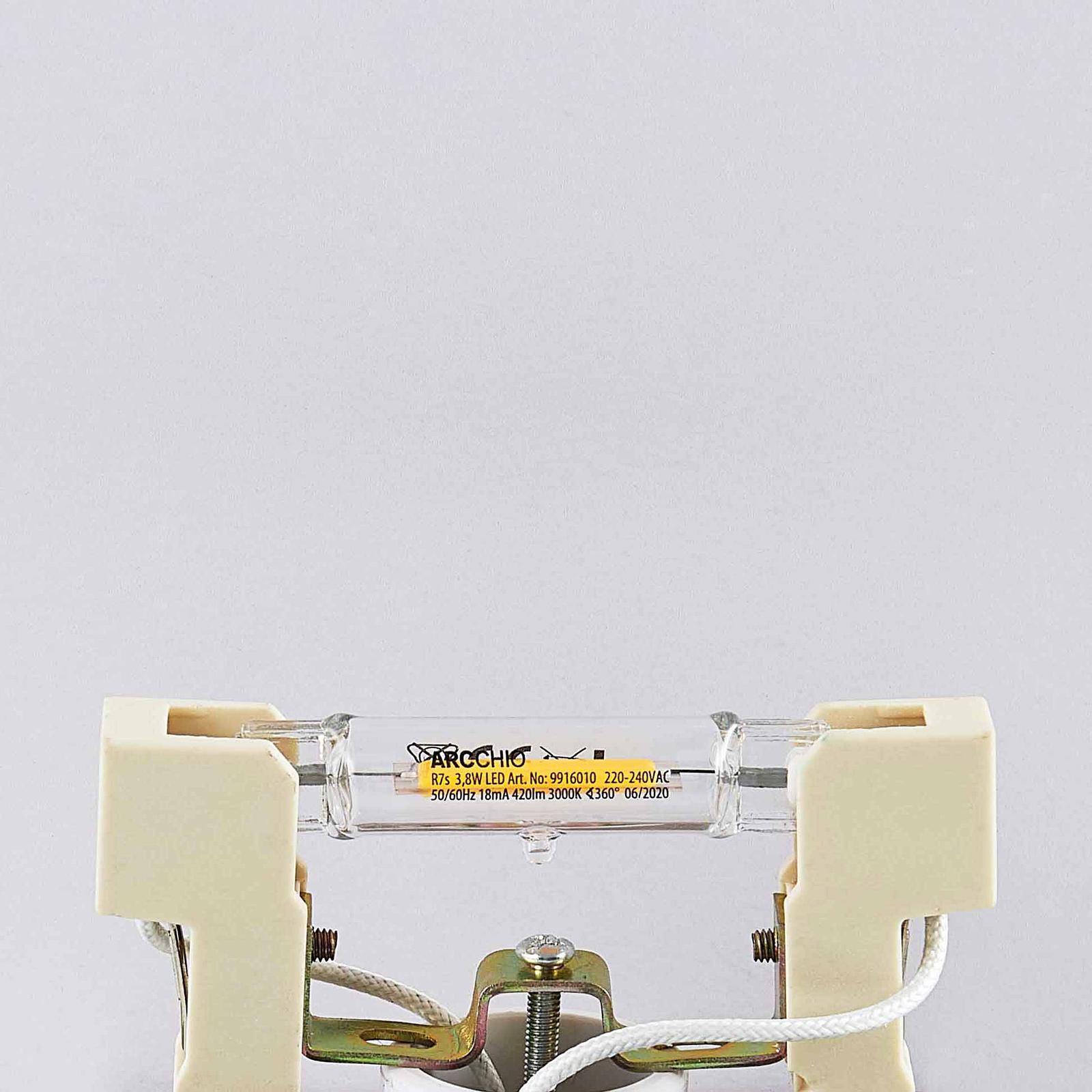 Arcchio-LED-lamppu R7s 78,3mm 3,8W 3 000 K