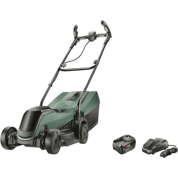 Bosch DIY Citymower 18-300 Gressklipper med 4,0 Ah-batteri og lader