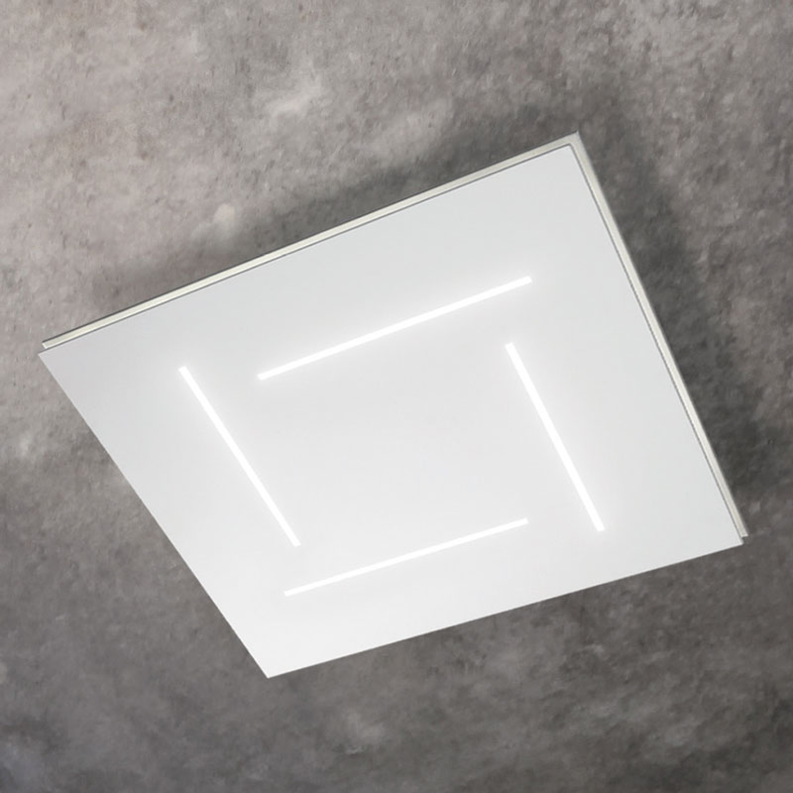 Neliönmuotoinen LED-kattovalaisin Trail