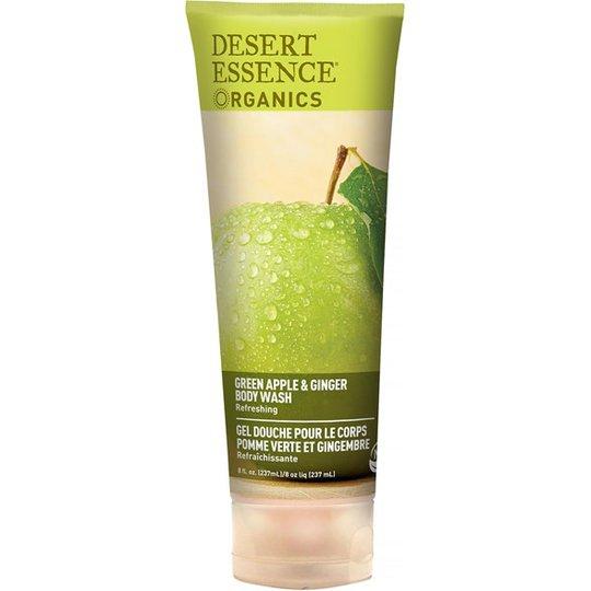 Desert Essence Green Apple & Ginger Body Wash, 237 ml