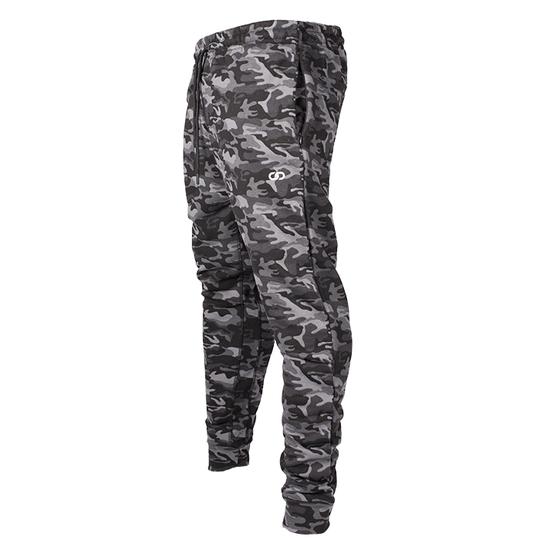 Chained Gym Pants, Black Camo