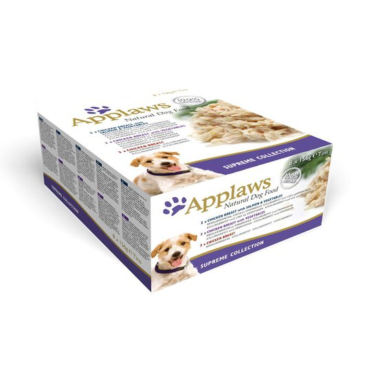 Applaws Dog Chicken Multipack 8x156 g