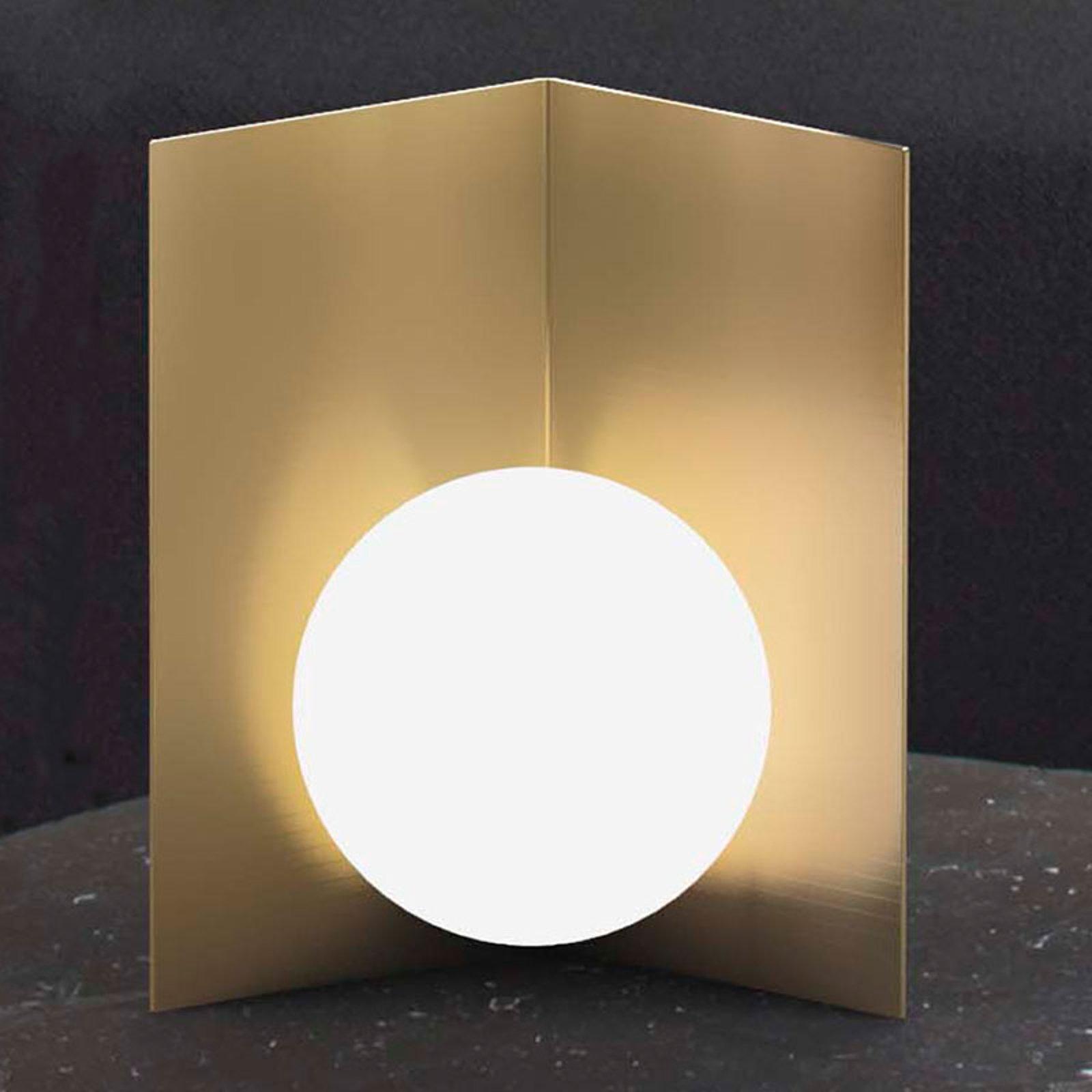 Balance bordlampe stående satinert gull