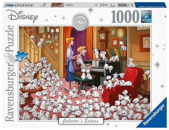 Ravensburger Puslespill 101 Dalmatinere 1000 Brikker
