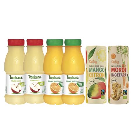 Juicepaket - 74% rabatt