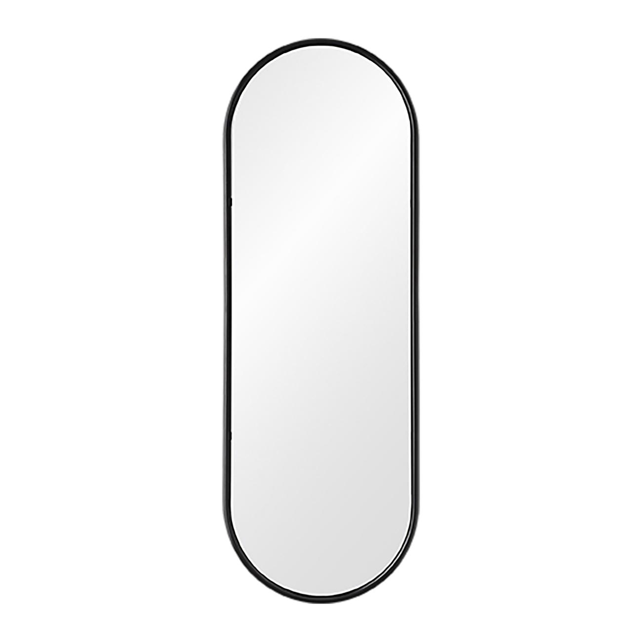 Spegel med förvaring bakom Angui Svart AYTM