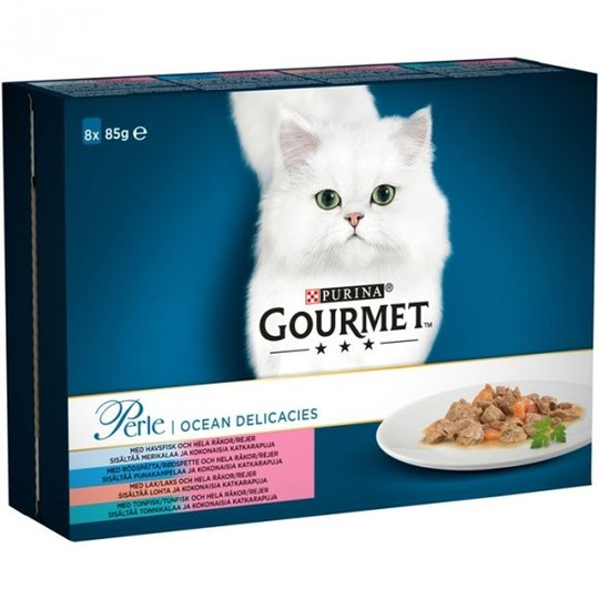 Gourmet Perle Sea Delicacies 8 x 85 g
