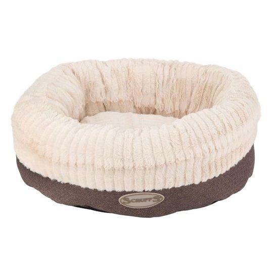 Scruffs Ellen Donut Hundbädd Grå (M)