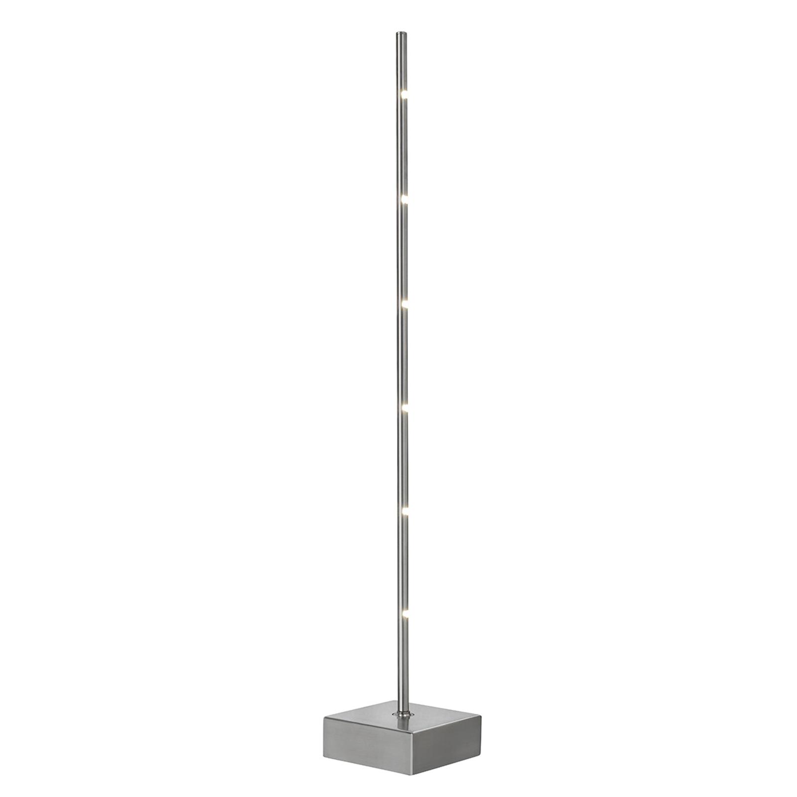 LED-pöytälamppu Pin, himmennin, kuusilamppuinen
