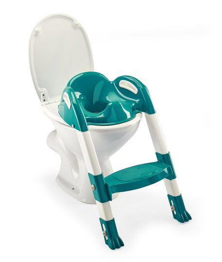 Thermobaby Kiddyloo Toalettsete Med Trapp, Deep Peacock