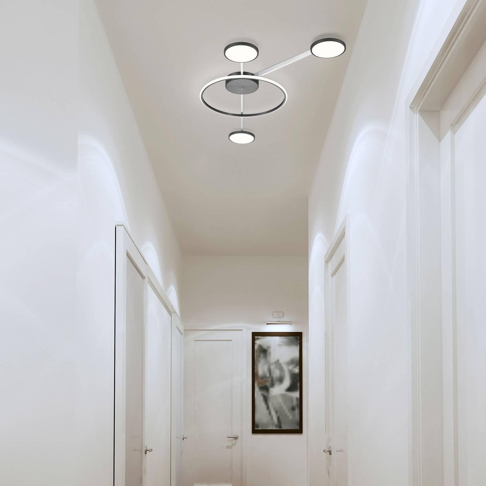Bopp Satellite -LED-kattovalaisin, 4-lamppuinen