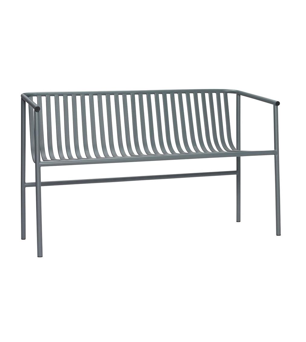Soffa utomhus metall grå, Hubsch