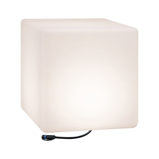 Paulmann Plug & Shine -LED-koristevalo Cube 40 cm