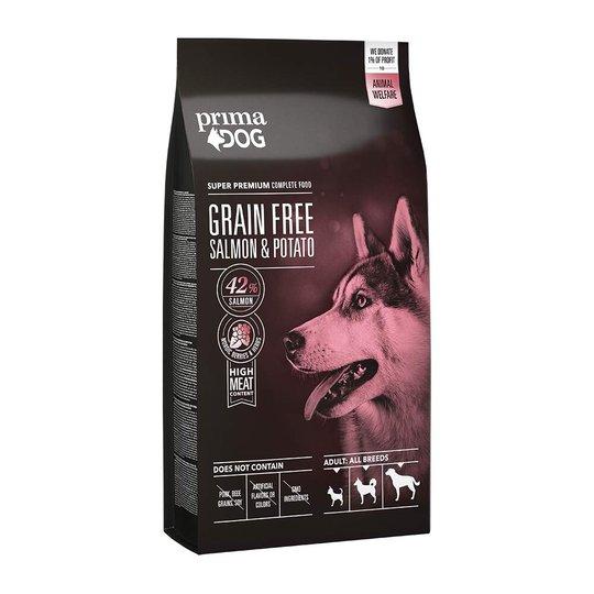 PrimaDog Adult All Breeds Sensitive Grain Free Salmon & Potato (10 kg)