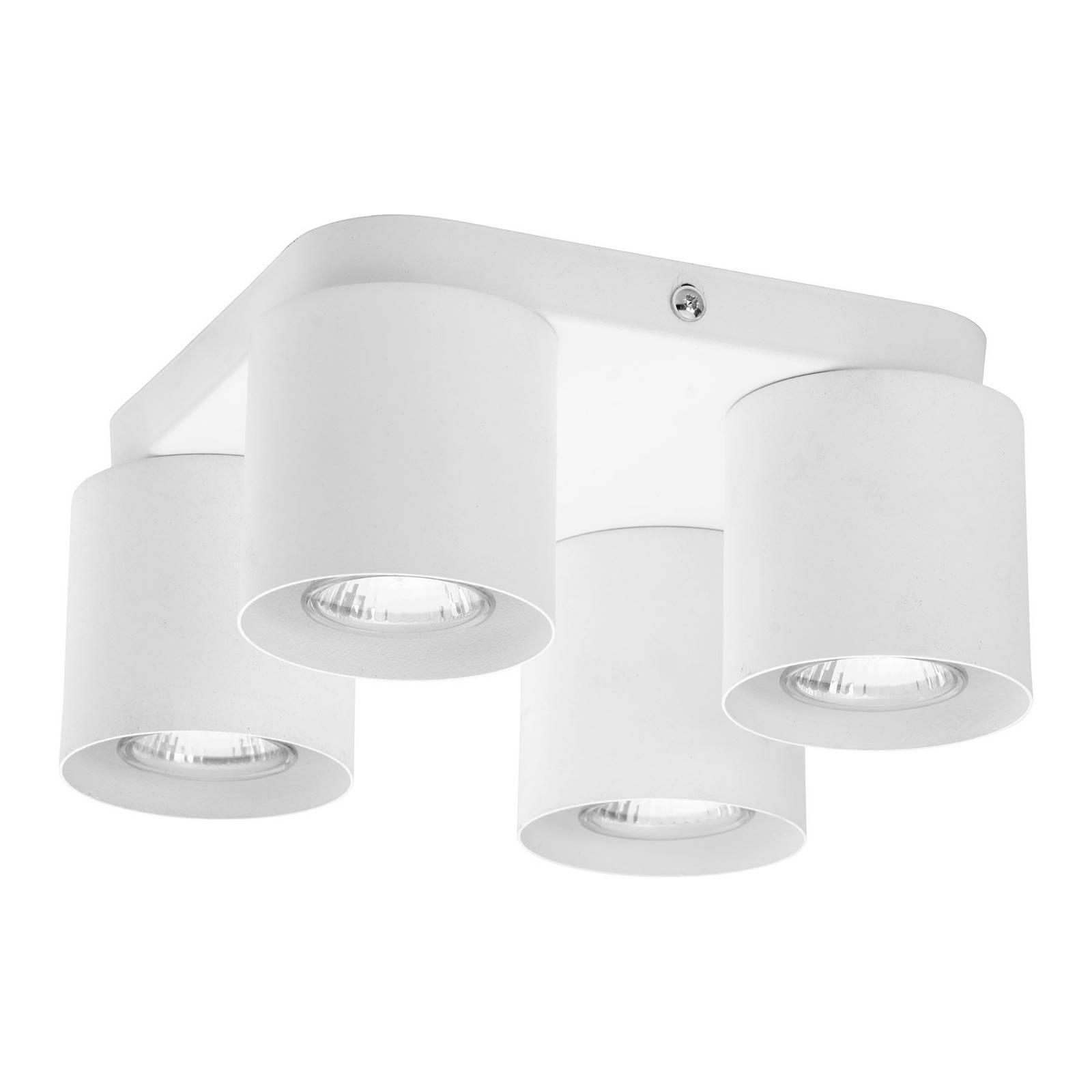 Kattovalaisin Vico, 4-lamppuinen, valkoinen