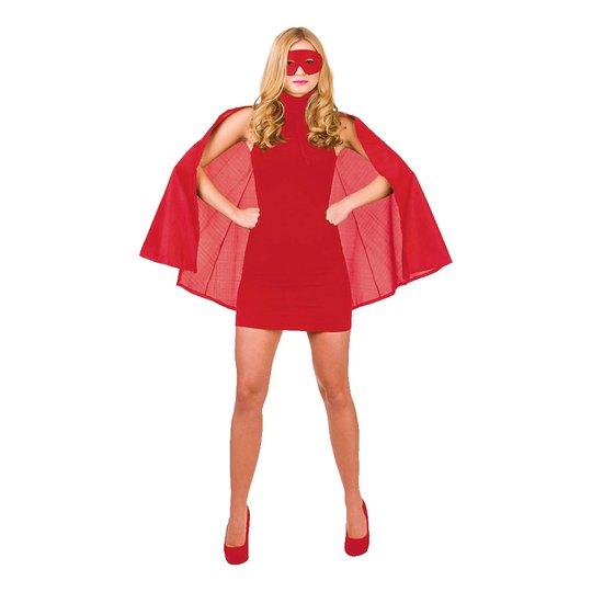 Superhjälte Röd Tillbehörskit - One size