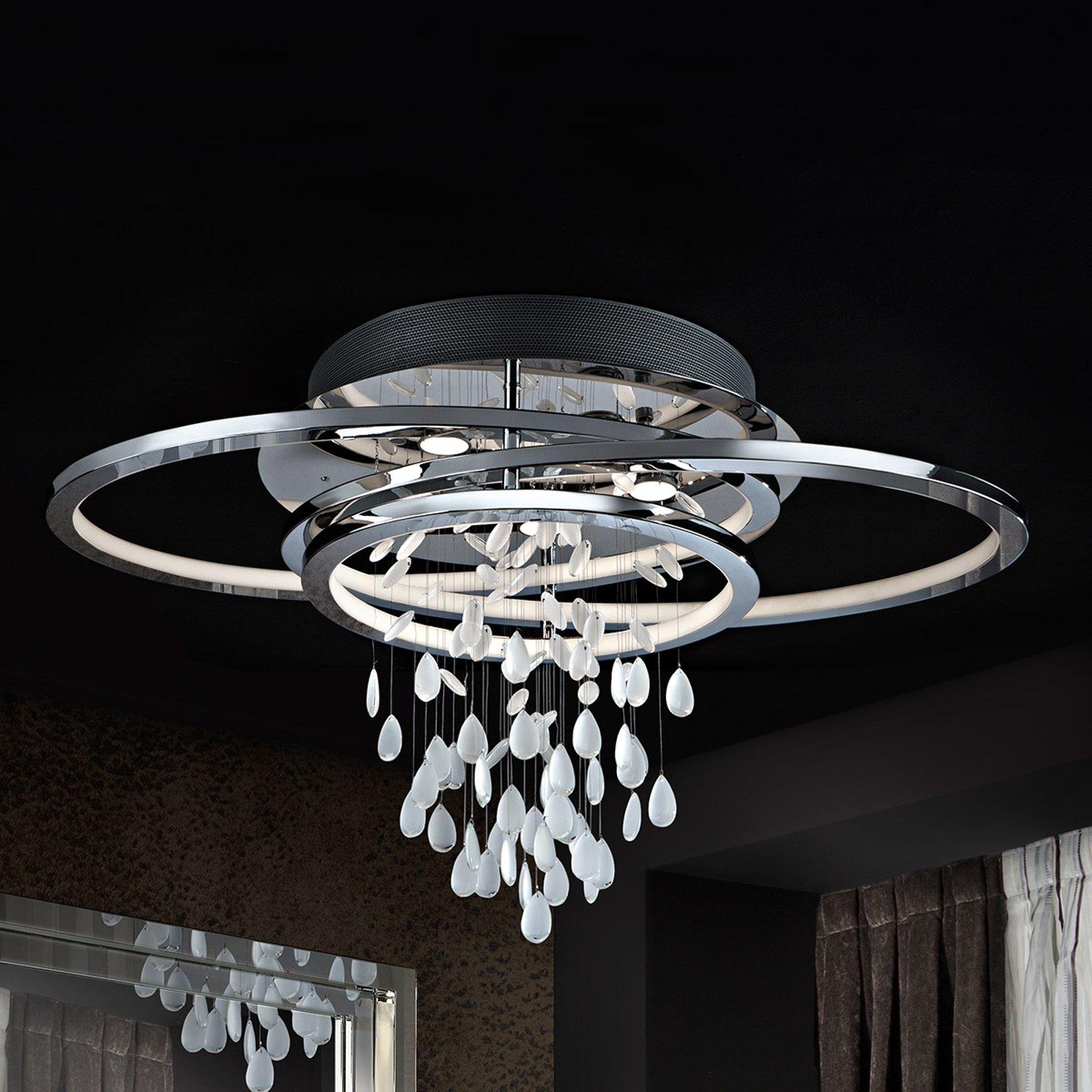 Bruma eksklusivt formet designtaklampe