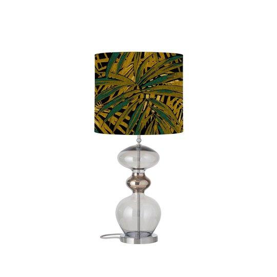 EBB & FLOW Futura bordlampe, Leaves maize, grå