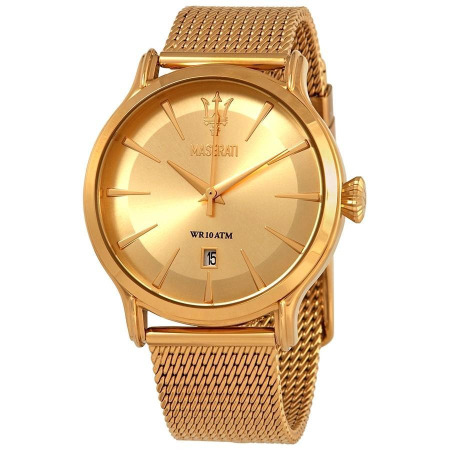 Maserati Men's Epoca Watch Gold R8853118003