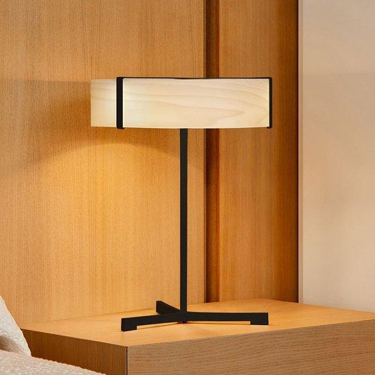 LZF Thesis LED-bordlampe svart matt / elfenben
