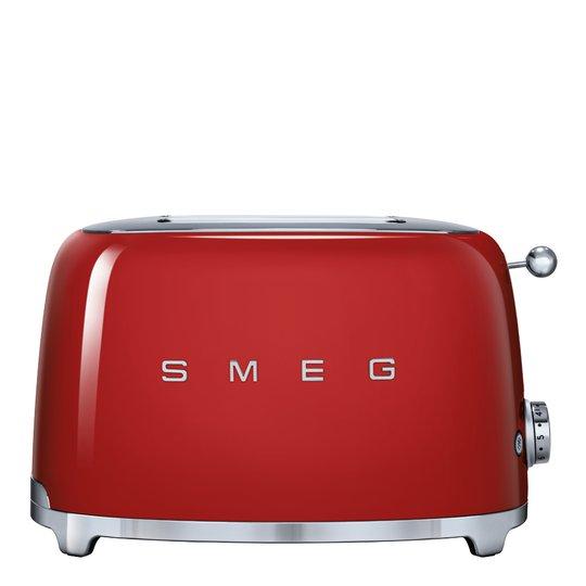 Smeg - 50's Style Brödrost 2 skivor Röd