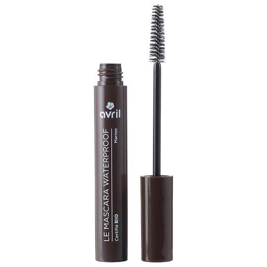 Avril Organic Mascara Waterproof - Brun, 10 ml