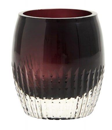 Lanterne Votive - Burgundy