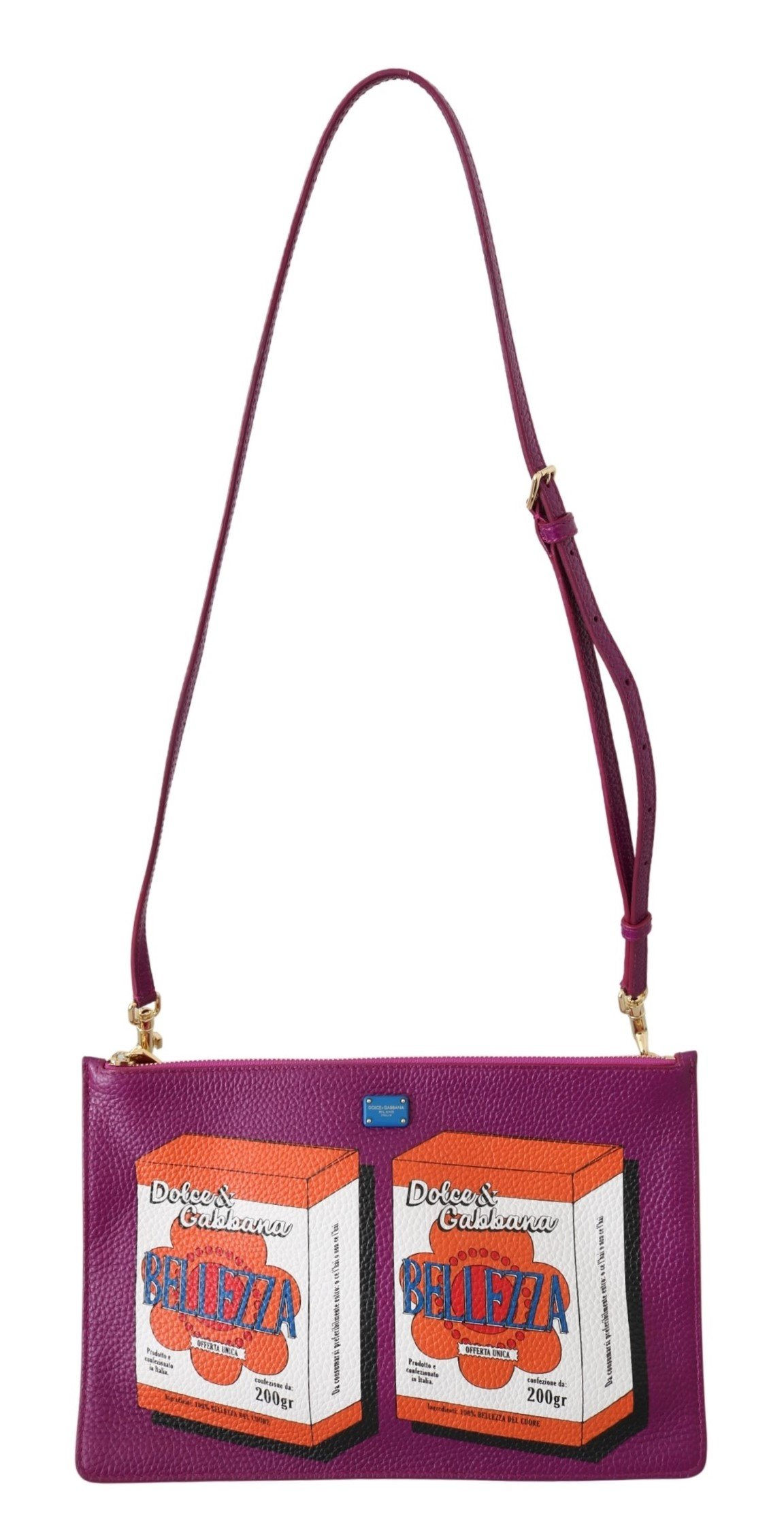 Dolce & Gabbana Women's Bellezza Sling Shoulder Bag Purple VAS8860