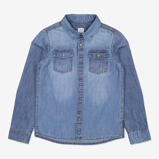 Jeansskjorte denim