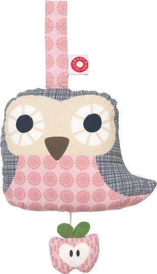 Franck & Fischer Owl Spilledåse, Pink