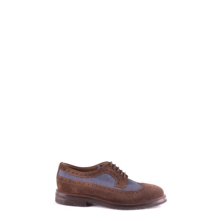 Brunello Cucinelli Men's Lace up Shoe Brown 162942 - brown 39.5