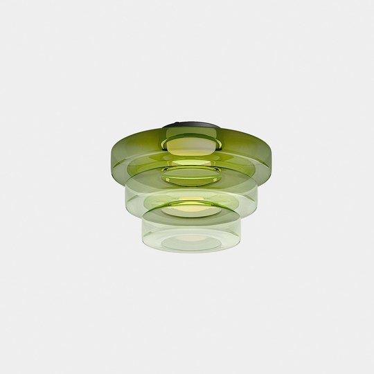 LEDS-C4 Strada taklampe Phase H34cm Ø50cm grønn
