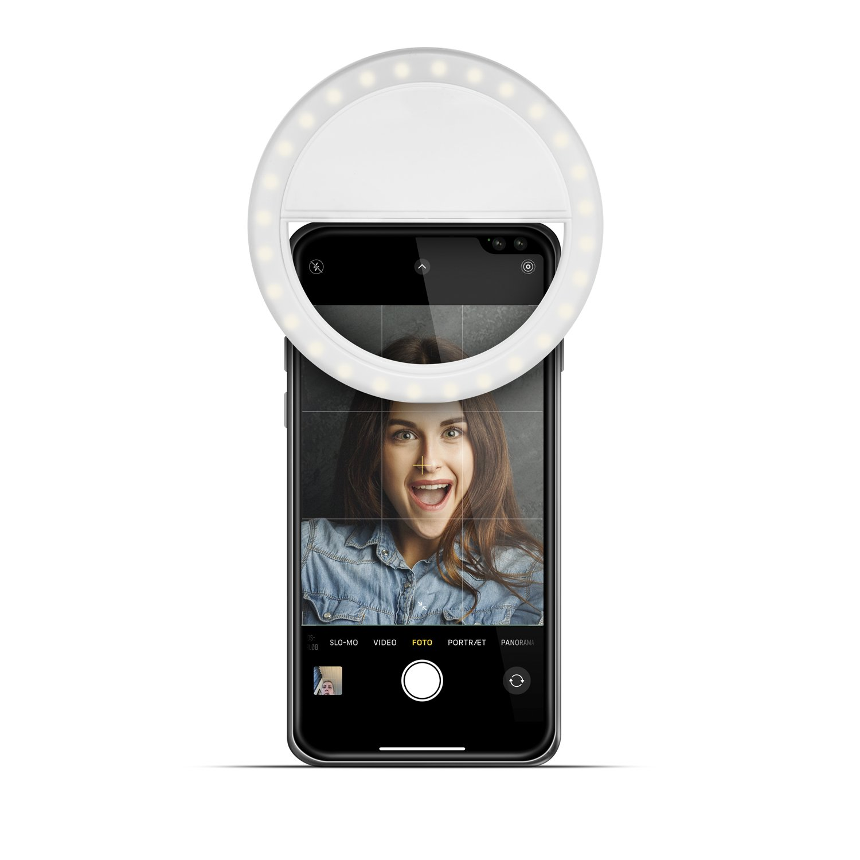 Gillian Jones - MAP Ring Light for Cell Phones w. Strong LED Light