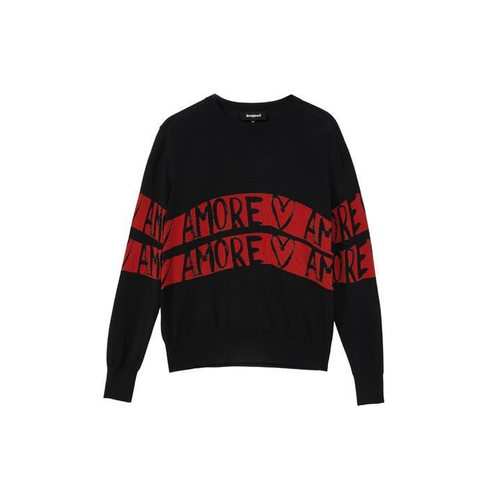 Desigual Women's Sweater Black 319393 - black L