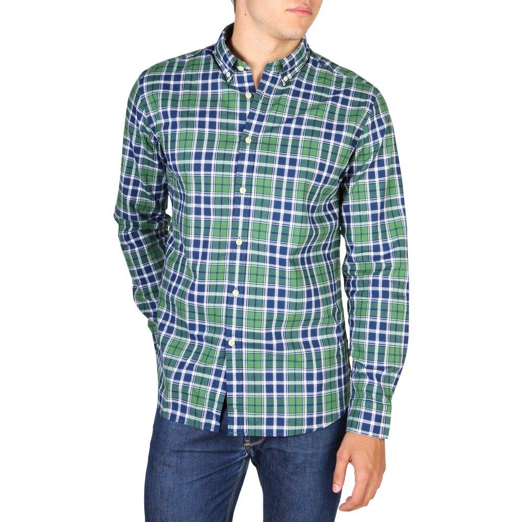 Hackett Men's Shirt Green HM307927 - green XL