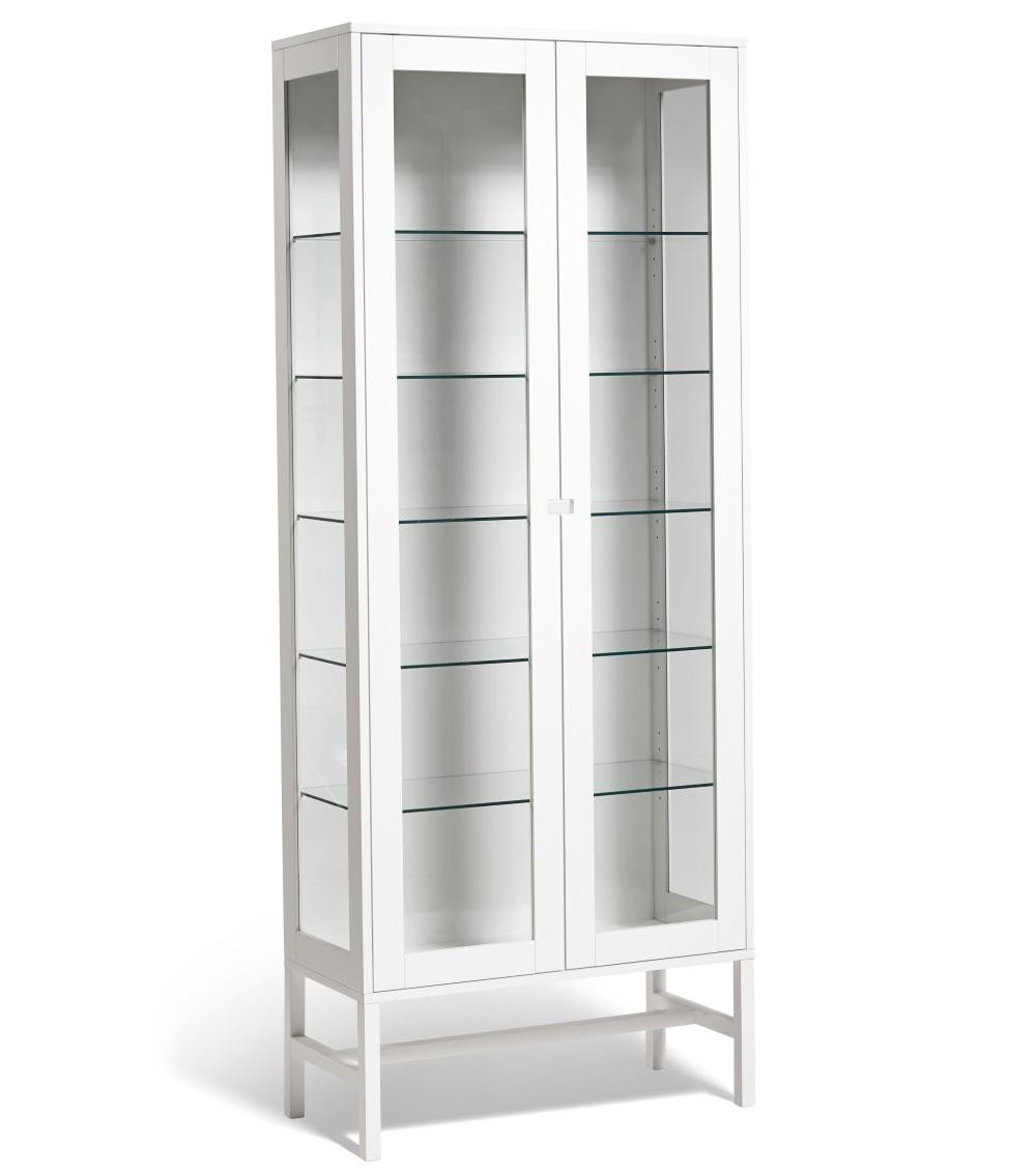 Falsterbo vitrinskåp glas 200 cm Mavis
