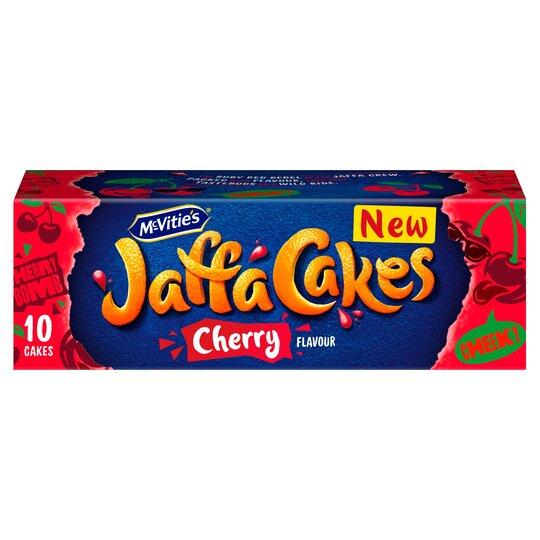 Mcvities Jaffa Cakes Cherry 120g