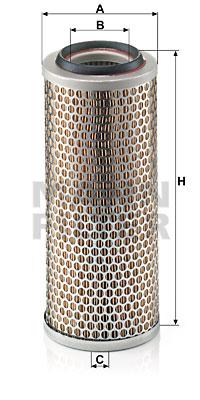 Ilmansuodatin MANN-FILTER C 13 114/4