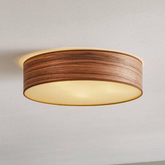 Tsuri L taklampe, Ø 40 cm, valnøtt