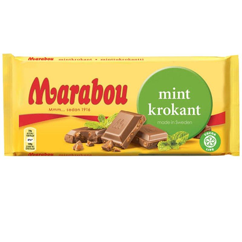 Mjölkchoklad Mintkrokant 200g - 33% rabatt