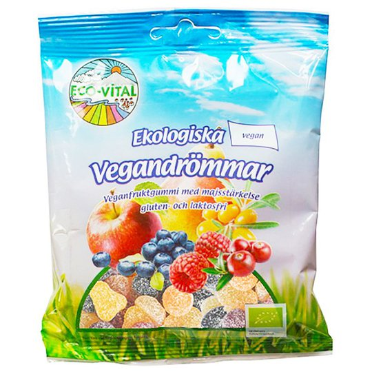 Godisblandning Vegandrömmar 90g - 32% rabatt