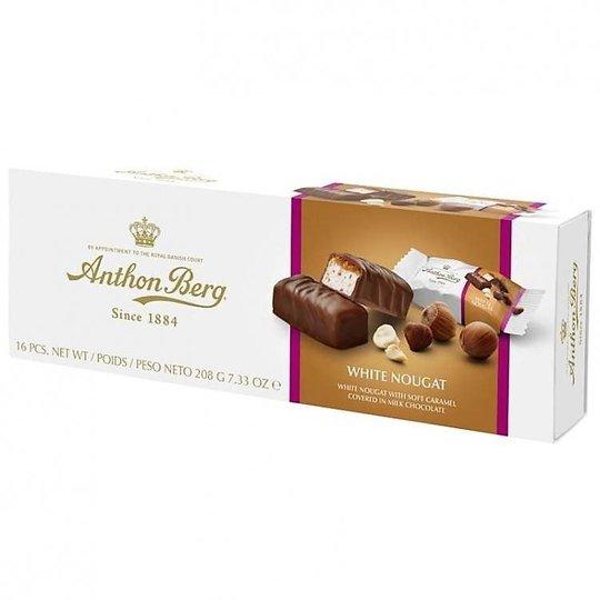 "Mjölkchoklad ""White Nougat"" 208g - 42% rabatt"