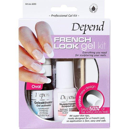 Depend French Look Gelekit Ovaali, Depend Irtokynnet