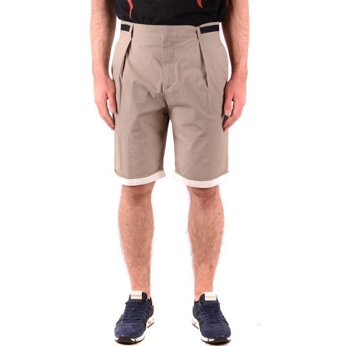 Alexander Mcqueen Men's Short Beige 165057 - beige M