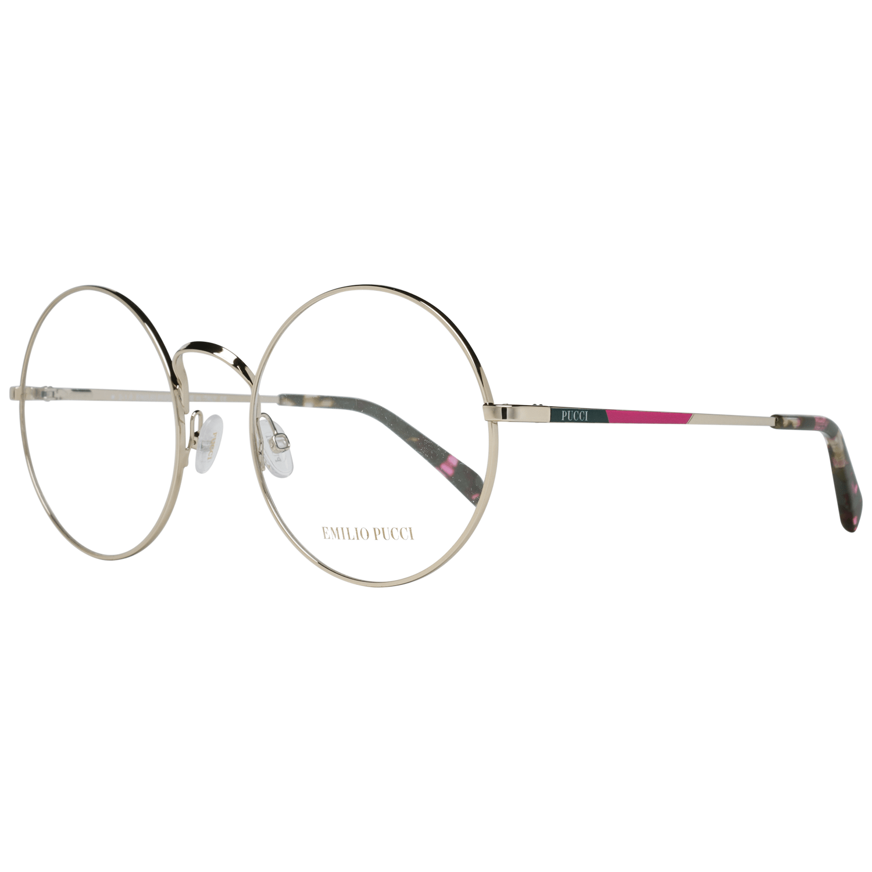 Emilio Pucci Women's Optical Frames Eyewear Gold EP5061 55033