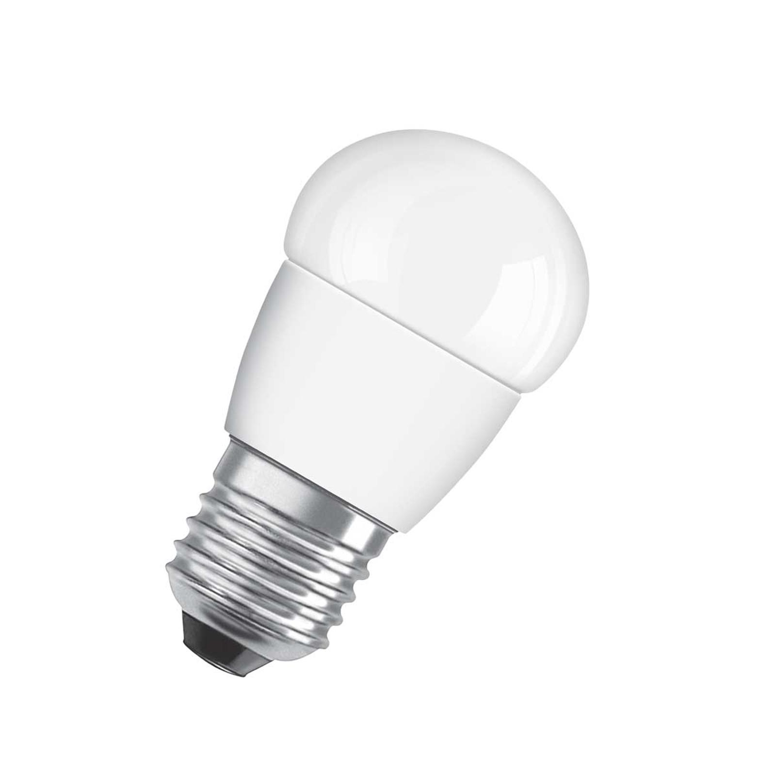 OSRAM-LED-golfpallolamppu E27 5,5W 827 Star matta