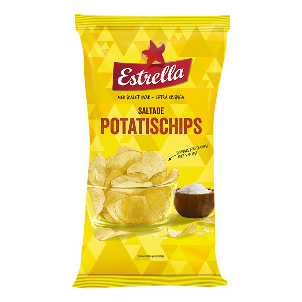 Estrella Saltade Chips - 175 gram