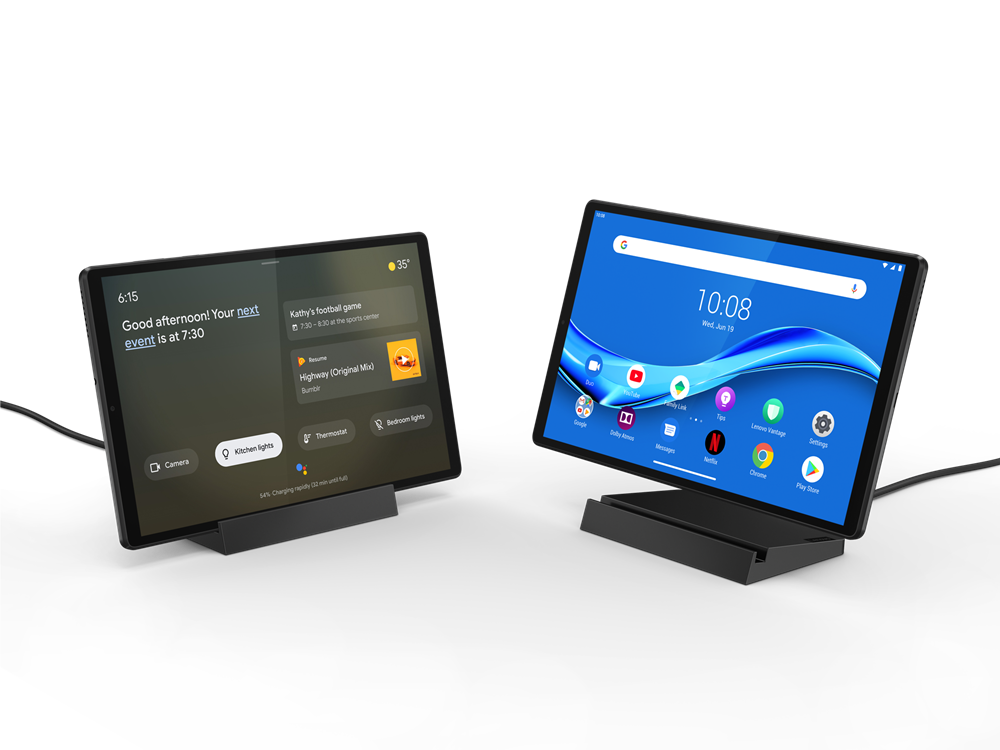Lenovo - Tab M10 Plus ZA5Y Smart Tab 64GB+4G 4G LTE