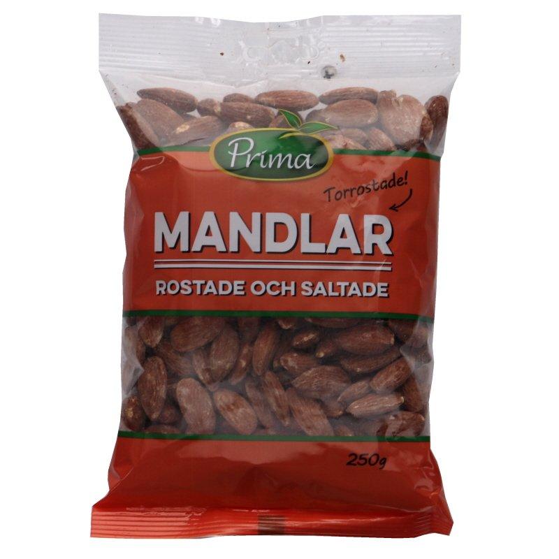 Mandlar Rostade & Saltade - 22% rabatt