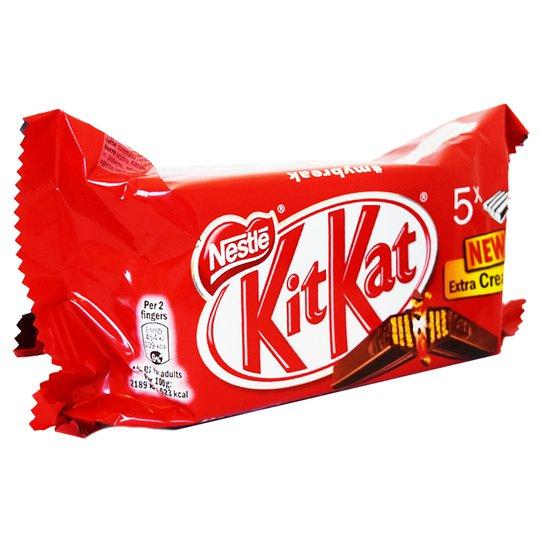 Kitkat 5 x 41,5g - 50% rabatt